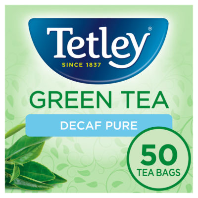 Tetley Green Tea Decaf 50 Tea Bags