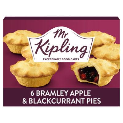 Mr Kipling Apple & Blackcurrant Pies