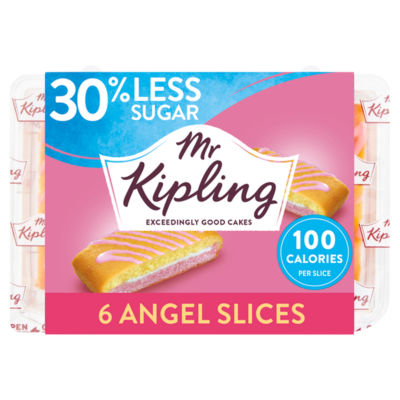 Mr Kipling 30% Less Sugar Angel Slices