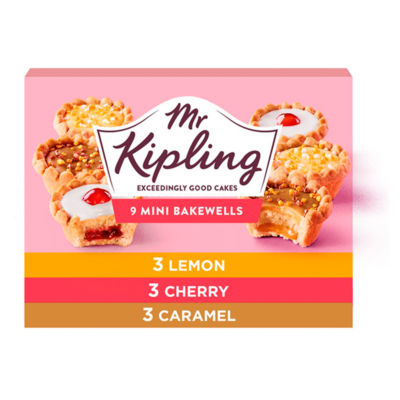 ASDA > Fresh Food > Mr Kipling Mini Bakewells Selection