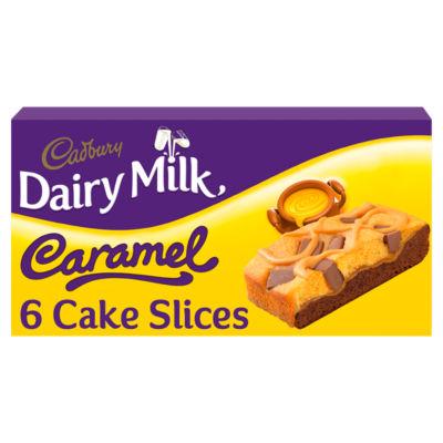 Cadbury Dairy Milk Caramel CakeSlices