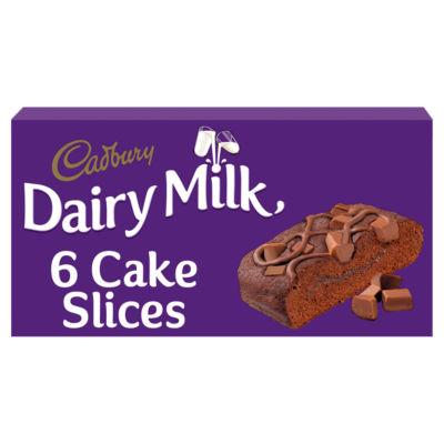Cadbury Dairy Milk Cake Slices