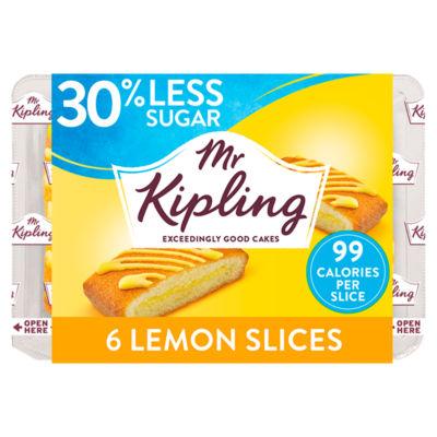 Mr Kipling 30% Less Sugar Lemon Slices