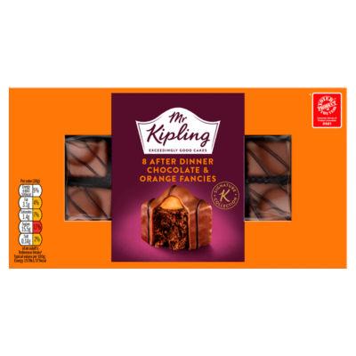 Mr. Kipling Signature Collection 8 After Dinner Chocolate & Orange Fancies