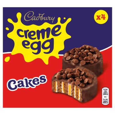 Cadbury 4 Creme Egg Cakes