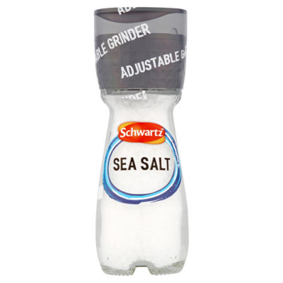 Schwartz Adjustable Grinder Sea Salt