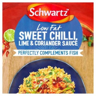 Schwartz For Fish Low Fat Sweet Chilli Lime & Coriander Sauce