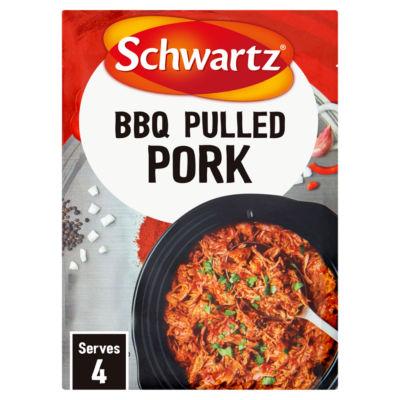 Schwartz Slow Cookers BBQ Pulled Pork Recipe Mix