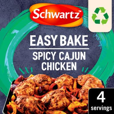 Schwartz Tray Bake Spicy Cajun Chicken