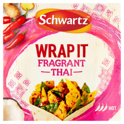 Schwartz Wrap It Fragrant Thai Recipe Mix