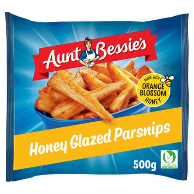 Aunt Bessie's Roast Parsnips Honey Glazed