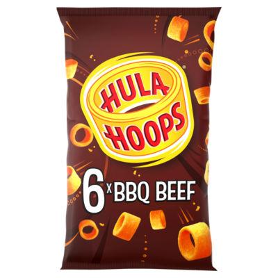 Hula Hoops BBQ Beef Multipack Crisps