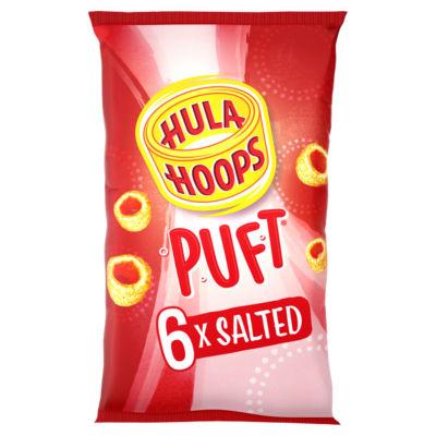 Hula Hoops Puft Salted Multipack Crisps