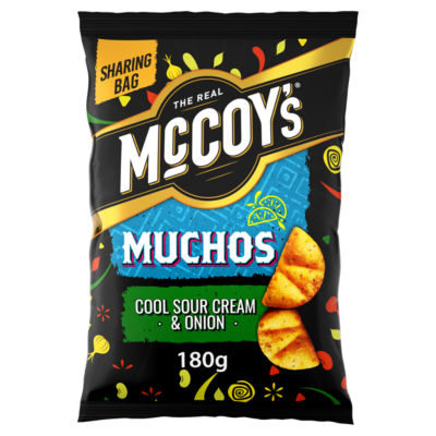 McCoy's Muchos Cool Sour Cream & Onion Sharing Tortilla Chips