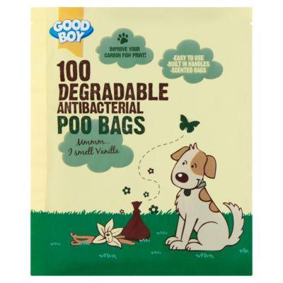 Good Boy 100 Antibacterial Degradable Poo Bags