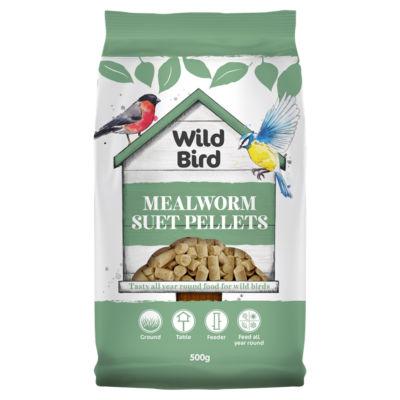 Wild Bird Mealworm Suet Pellets