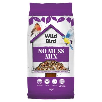 Wild Bird Bird Seed No Mess Mix