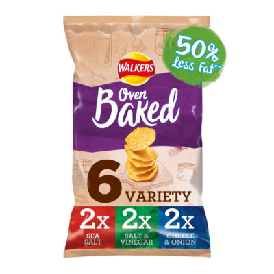 ASDA > Fresh Food > Walkers Baked Variety Multipack Crisps