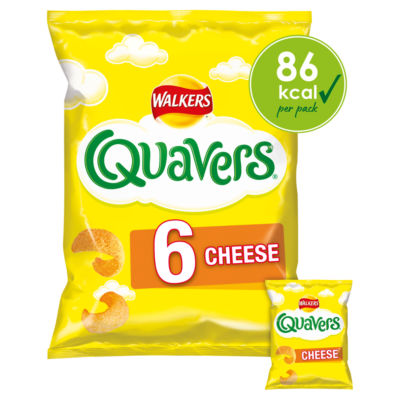 Walkers Cheese Quavers Multipack Crisps