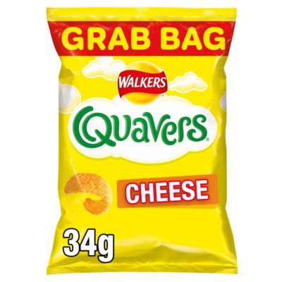 ASDA > Dairy Eggs Chilled > Walkers Quavers Cheese Snacks