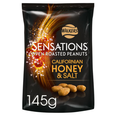 Walkers Sensations Honey & Salt Roasted Peanuts