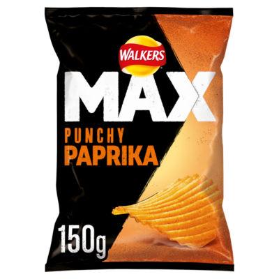 ASDA > Food Cupboard > Walkers Max Paprika Sharing Crisps
