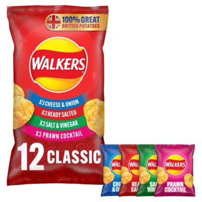 ASDA > Food Cupboard > Walkers Classic Variety Multipack Crisps