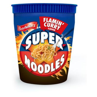 Batchelors Super Noodles Flamin' Curry Flavour
