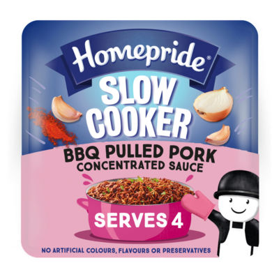 Homepride Slow Cooker BBQ Pulled Pork Concentrated Sauce