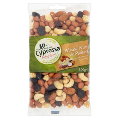 Cypressa Mixed Nuts & Raisins