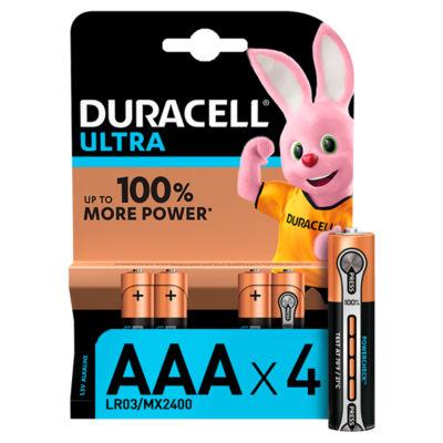 Duracell Ultra Alkaline AAA Batteries