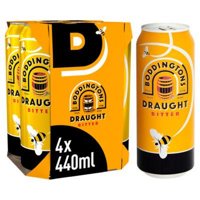 Boddingtons Draught Bitter Beer Cans