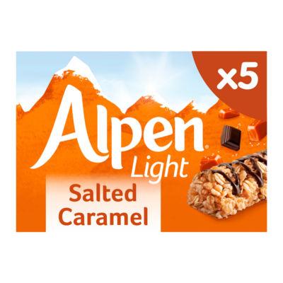 Alpen Light Salted Caramel Cereal Bars