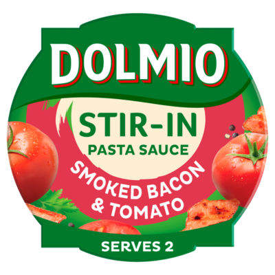 Dolmio Stir In Pasta Sauce Smoked Bacon & Tomato