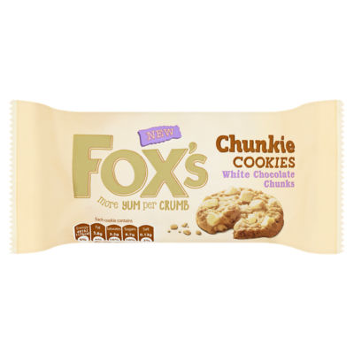 Fox's Chunkie Cookies White Chocolate Chunks