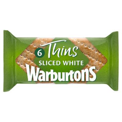 Warburtons Soft White Sandwich Thins