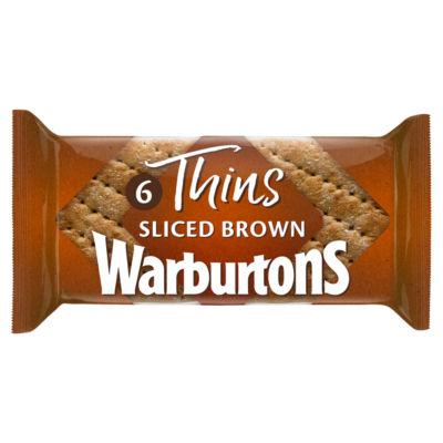 Warburtons Soft Brown Thins