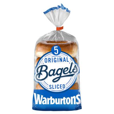 ASDA > Fresh Food > Warburtons Plain Bagels
