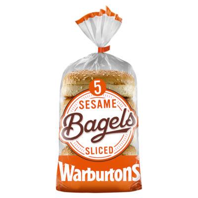 Warburtons 5 Sesame Bagels