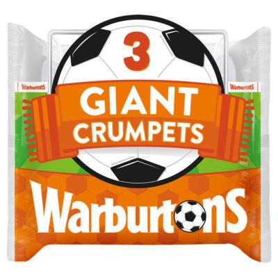 ASDA > Fresh Food > Warburtons Giant Crumpets