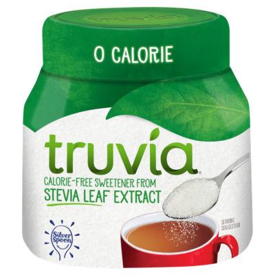 Truvia Jar Stevia Low Calorie Sweetener