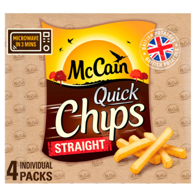 McCain Straight Cut Quick Chips