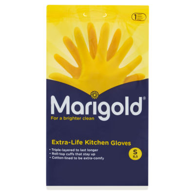Marigold Extra Life Kitchen Gloves Small