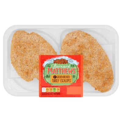 Bernard Matthews Golden Breaded Turkey Escalopes