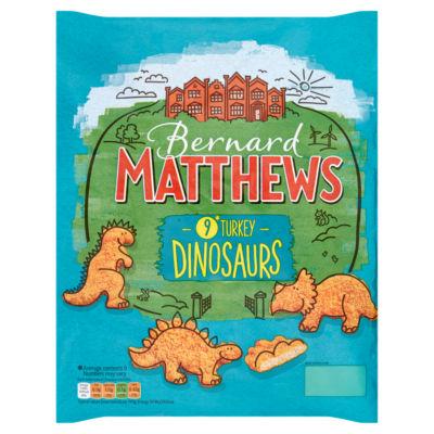 Bernard Matthews 9 Turkey Dinosaurs