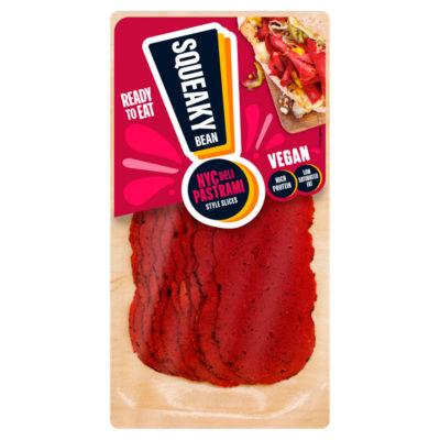Squeaky Bean NYC Deli Pastrami Style Sandwich Slices