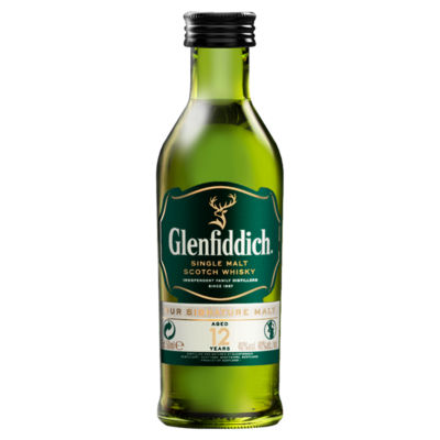 Glenfiddich Single Malt Scotch Whisky 12 Years Old
