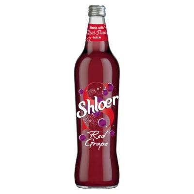 Shloer Red Grape Sparkling Juice Drink