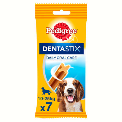 Pedigree Dentastix Daily Adult Medium Dog Treat Dental Chews 7 Pack