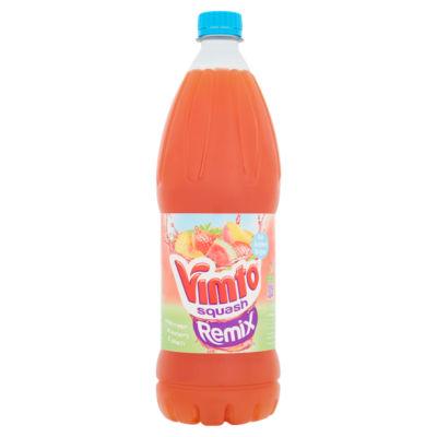 Vimto  Remix No Added Sugar Watermelon, Strawberry & Peach No Added Sugar